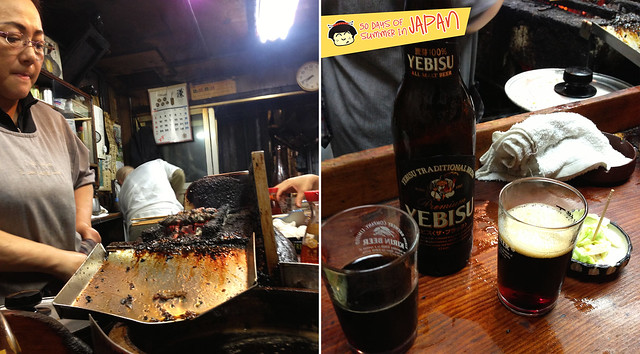 Eel Yakitori in Piss Alley Memory Lane Shinjuku 4