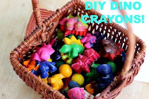 Dino Crayons 10