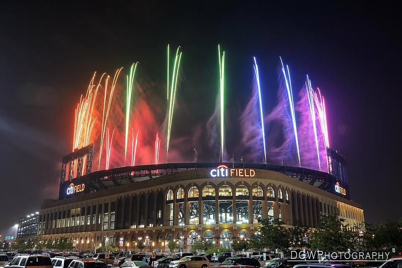 New York Mets Fireworks Night at Citi Field