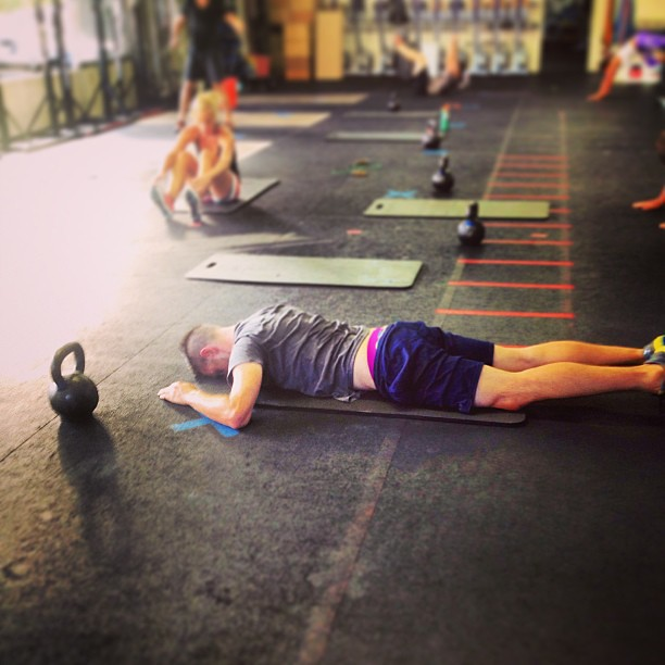 Hang in there, Cameron. #midwod #todaywashard #crossfit