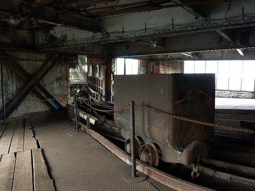 Vagoneta en la mina Michal (Ostrava)