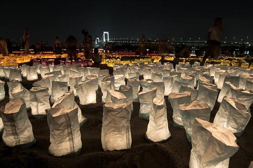 海の灯まつりinお台場2013