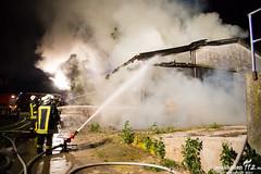 Scheunenbrand Biebesheim 29.07.13