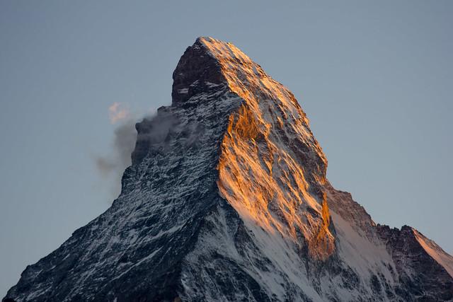 Matterhorn Alpenglow