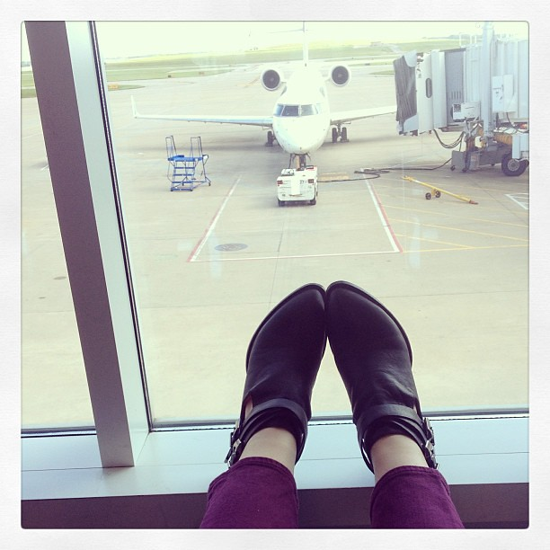 Austin bound! #txsc13 #travel #30dayselfportraitchallenge #abeautifulmess #fromwhereistand