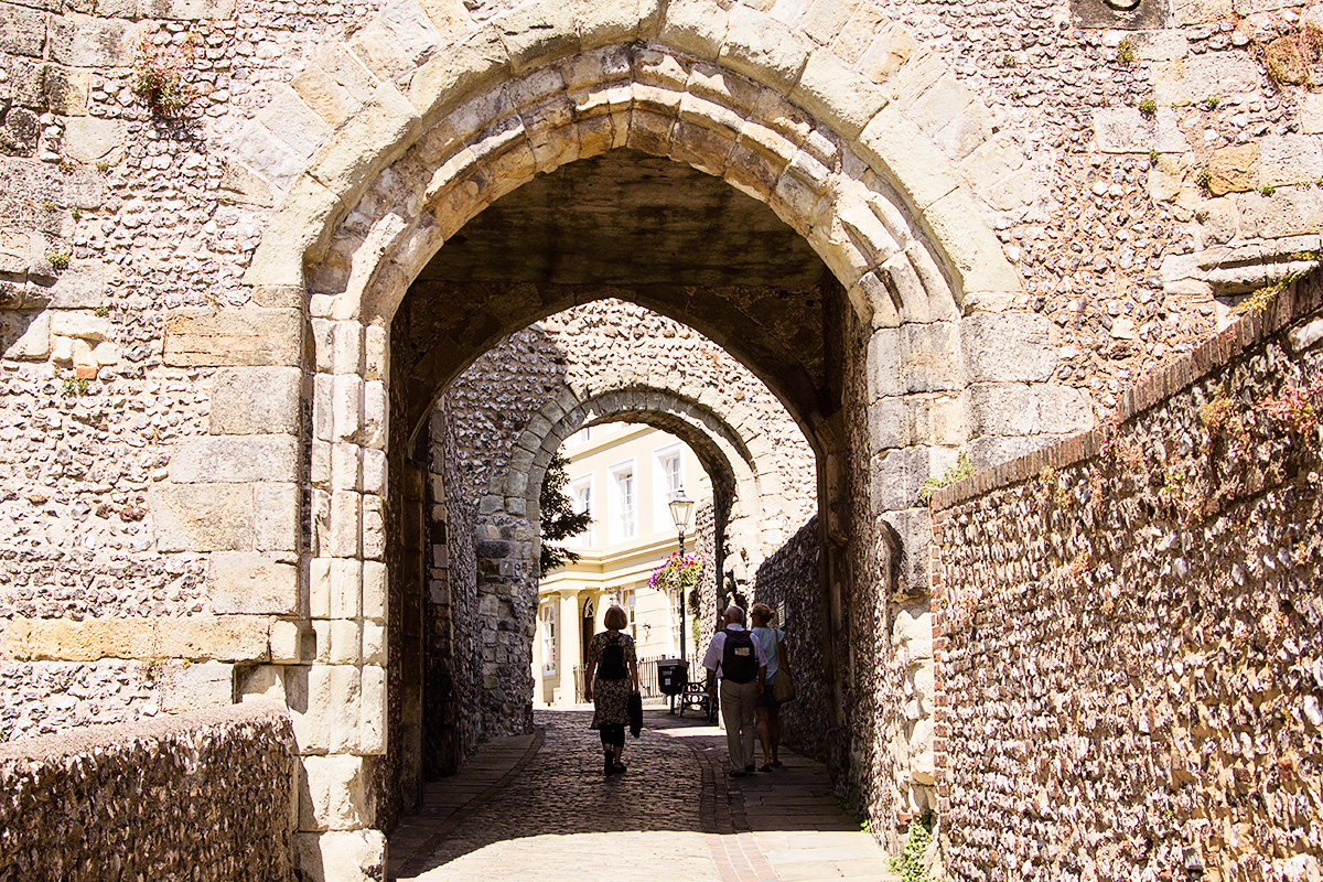 The Barbican gate, Lewes