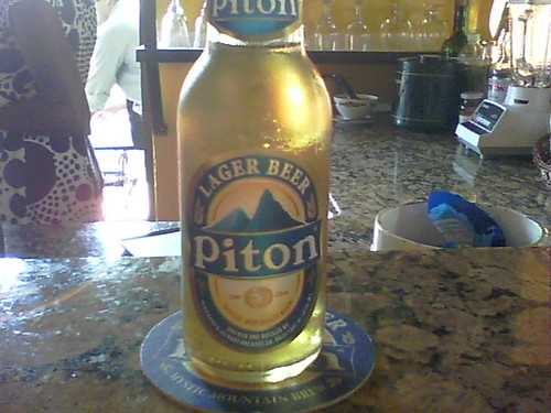Piton Beer - St. Lucia