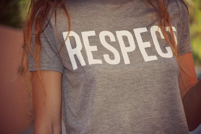 T SHIRT ZARA RESPECT 3