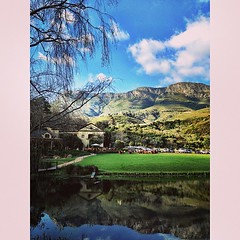 Uhm - is this real?! Love my life  #beautiful #capetown #castle #view #sky #nature #southafrica #mylife