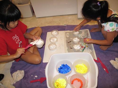 Water Beads/Shaving Cream