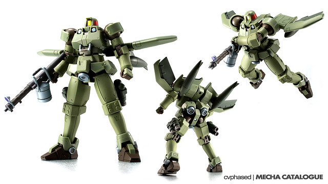 ROBOT Damashii <Side MS> Leo Flight Type