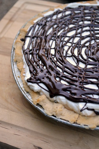 easy to make dulce de leche banana pie