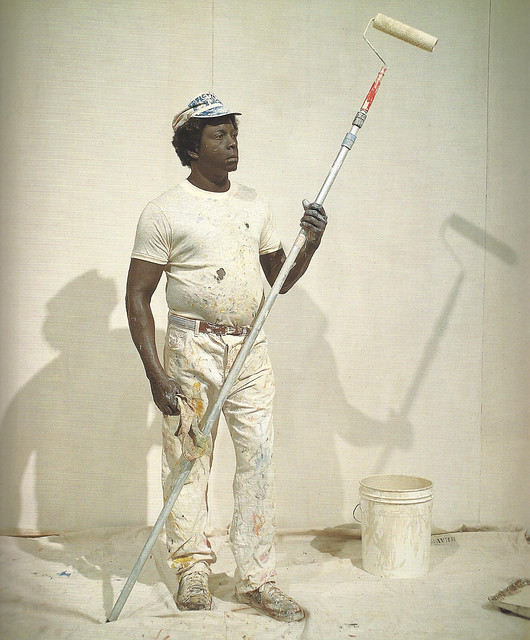 Duane Hanson, The Housepainter II, 1984