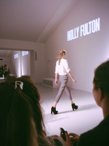 LFW Catwalk, Holly Fulton