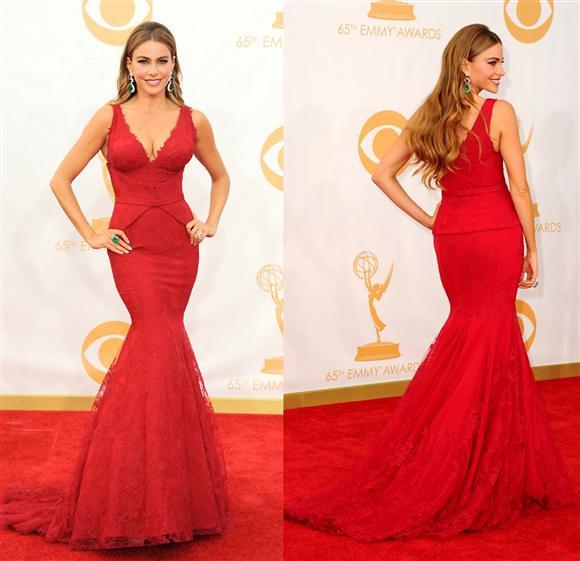 Sofia Vergara Emmys 2013