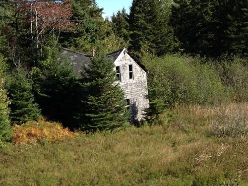 old ruins novascotia capebreton inverness fixerupper iphone4s