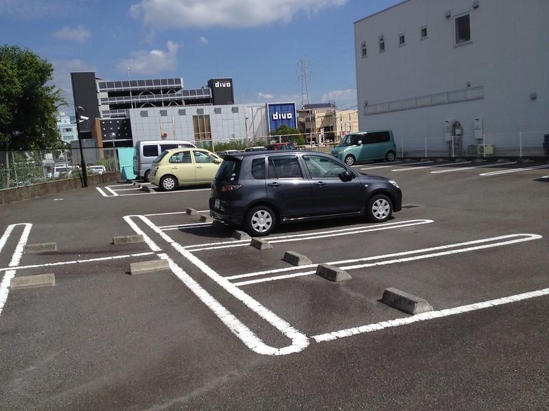 駐車スペース by haruhiko_iyota