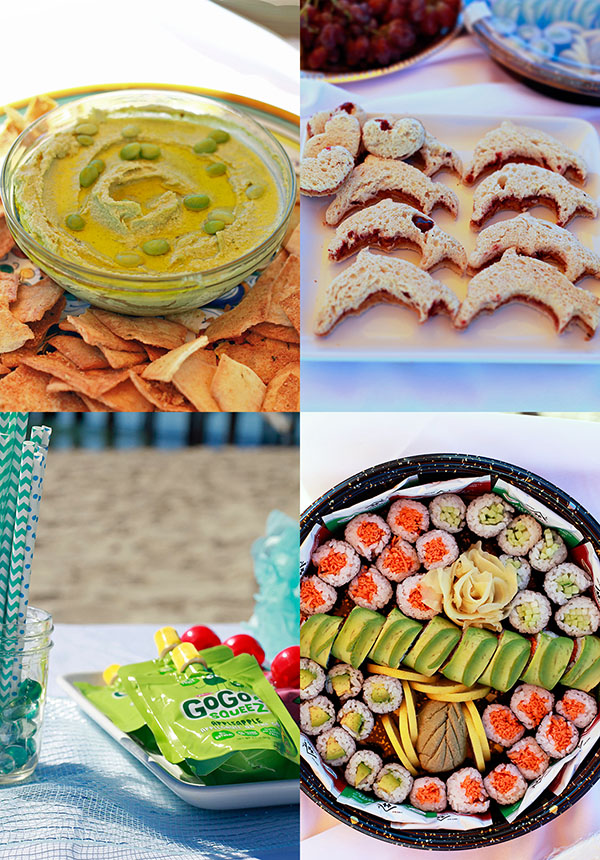 healthy party food