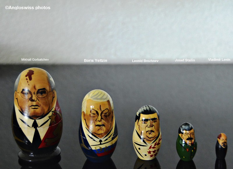 5 Russian presidents