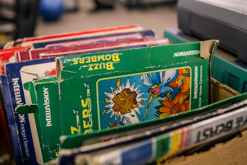 Old IntelliVision video games