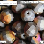 PRECIOSA Fire-Polished Beads - 151 19 001 - 00030/29953