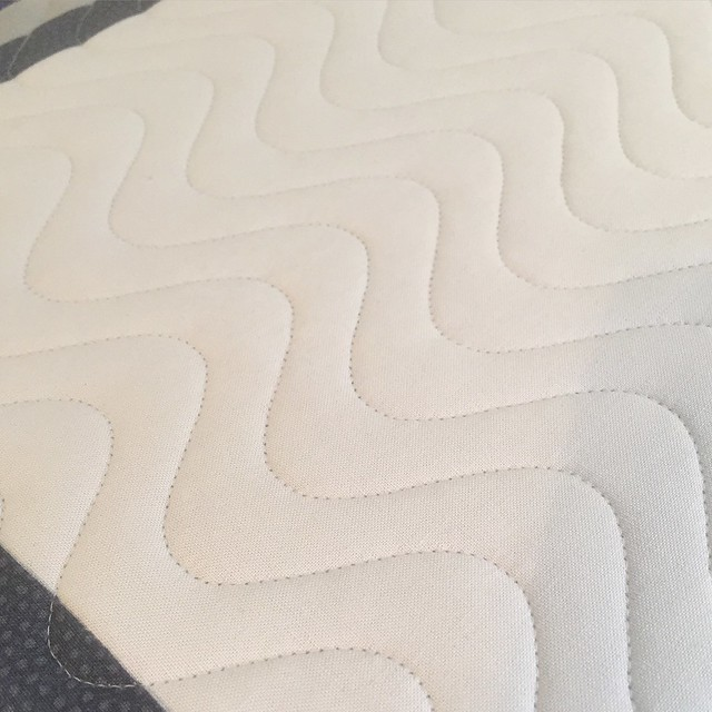 Wave quilting