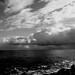 Mar, cielo y nubes