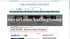 Huffington Secret Space program