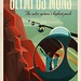 Travel Poster: Olympus Mons by Official SpaceX Photos