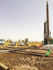 Deep well drilling in Abomsa town Wolenchiti woreda of Oromia region