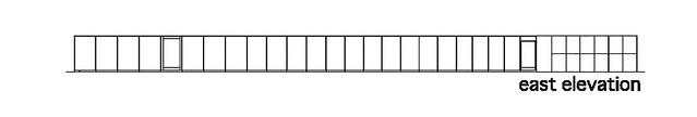 Photo:aat + Makoto Yokomizo - 富弘美術館 Tomihiro Art Museum - Drawings 07 - 東向立面圖 East Elevation By 準建築人手札網站 Forgemind ArchiMedia