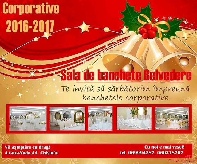 Restaurantul Belvedere > PETRECERE CORPORATIVĂ DE REVELION !!!