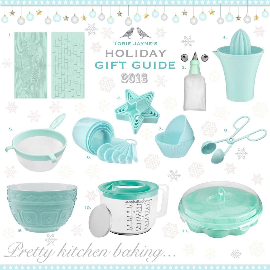 Pretty Kitchen baking...Gift Guide
