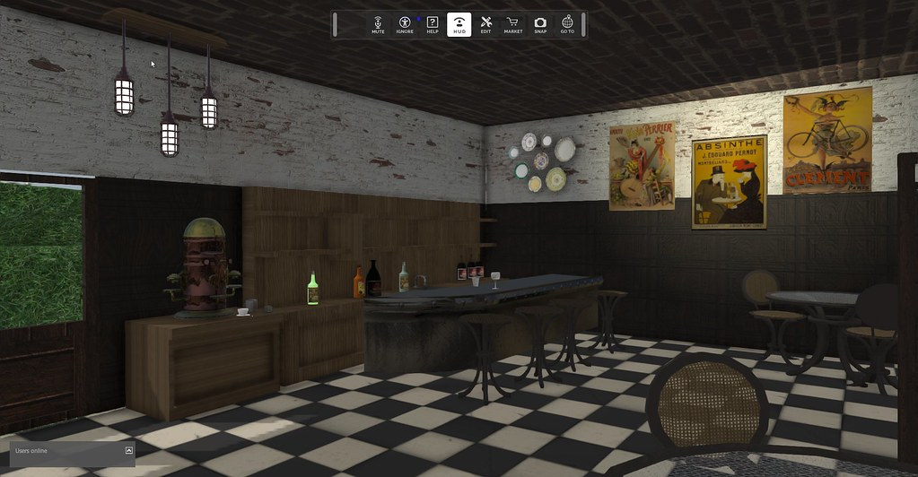 My bistro in High Fidelity