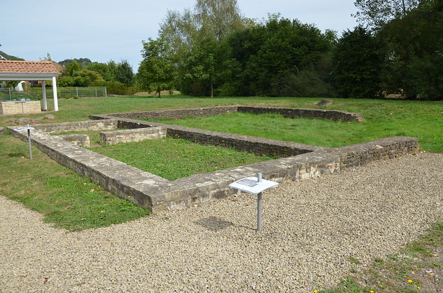 The vicus Tabernae located along the major Roman road leading from Divodurum Mediomatricorum (modern-day Metz) to Augusta Treverorum (modern-day Trier), Tawern, Germany
