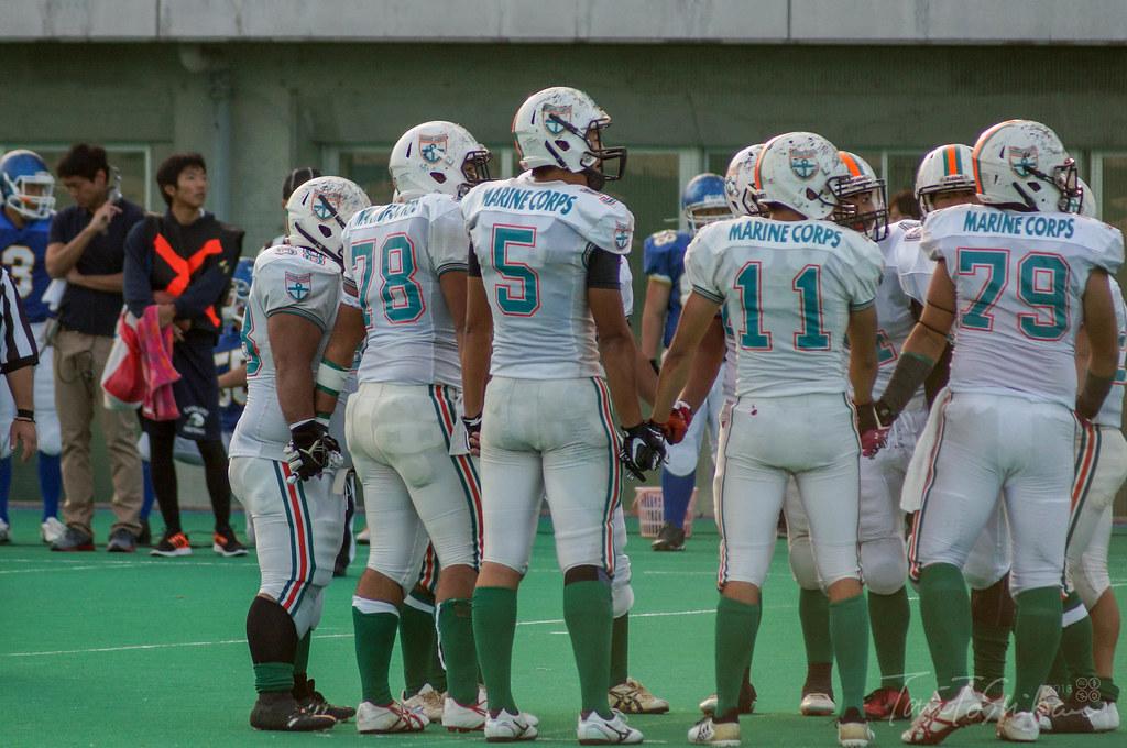 中四国学生アメリカンフットボール1部リーグ入れ替え戦 山口大ー高知大