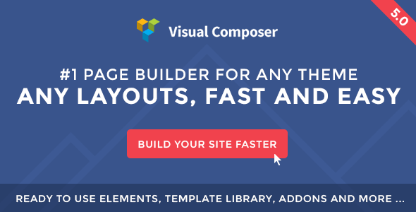Visual Composer v5.0 - Page Builder for WordPress