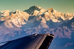 View of Mount Everest from @yetiairlines special Mountain Flight and the end of my trip with @onthegotours Expectations exceeded! #travel #nepal #touring