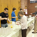 Palm Sunday pancake breakfast. Proceeds from the breakfast helped pay for the youth group's mission trip to California. The Youth Group prepared and served the meal and cleaned up afterward. Union Congregational Church in St. Louis Park, Minnesota.
