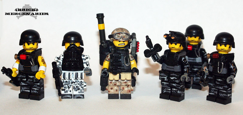 Brick Mercenaries - Available Soon