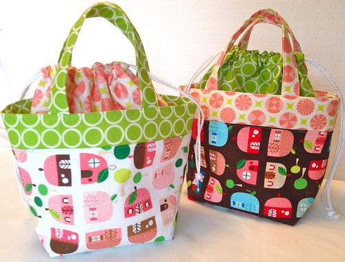 Ayumi's lunch bag pattern