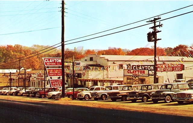 clayton motors inc knoxville tn 1960s flickr photo sharing. Black Bedroom Furniture Sets. Home Design Ideas