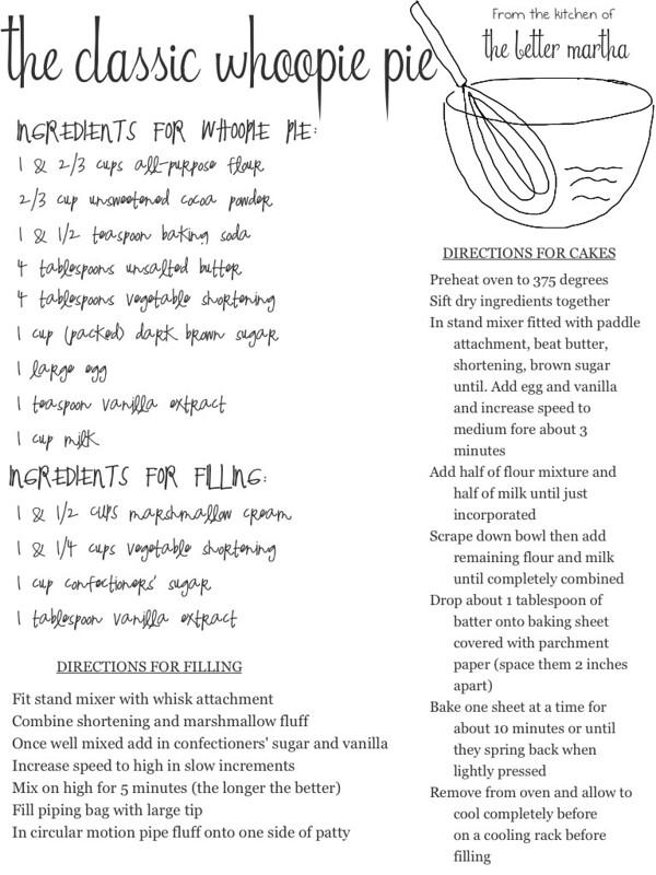 classic whoopie pie recipe