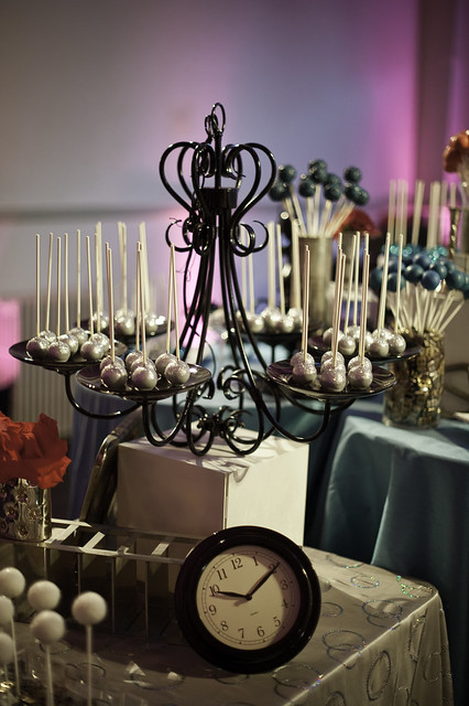 Chandelier Display for Cake Pops