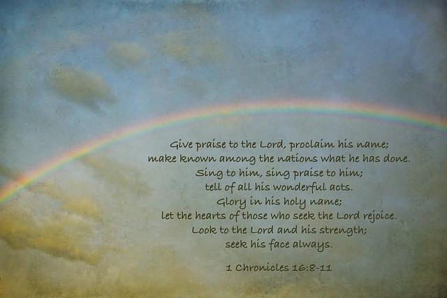 rainbow scripture