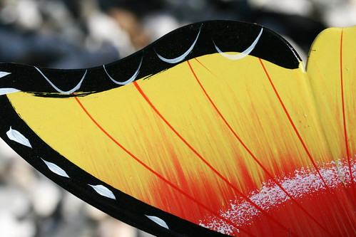 Plastic Butterfly Wing
