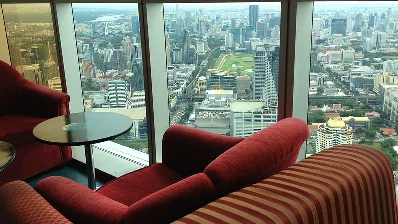 Observation lounge, Baiyoke Sky Hotel, Bangkok