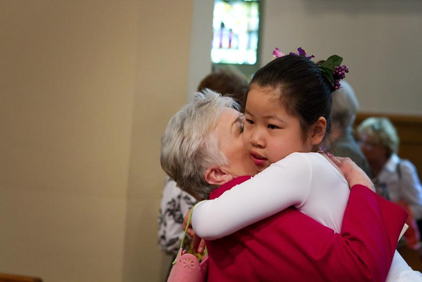 anna and grandma