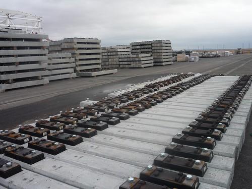 Suministro y transporte de traviesas para la línea de AV Madrid-Levante