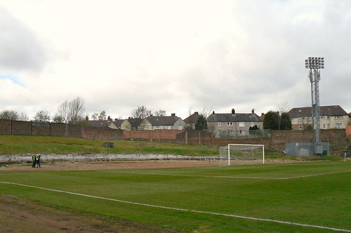 West end, Cliftonhill Stadium, Coatbridge.